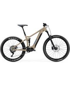 Merida eOne Sixty 300 S Electric Mountain Bike Light Sand Blue (2021)
