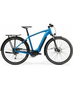 Merida eSpresso 400 S EQ Electric Hybrid Bike Silk Blue/Black (2021)