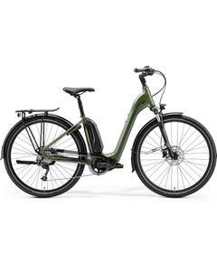Merida eSpresso City 300 EQ 504Wh Electric Hybrid Bike Silk Green/Grey (2021)
