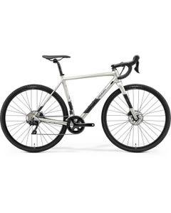 Merida Mission CX 400 CycloCross Bike Silk Titan/Black/Silver (2021)