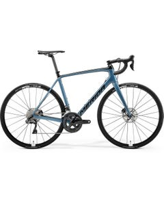 Merida Scultura 7000-E Road Bike Metallic Black/Dark Blue (2021)