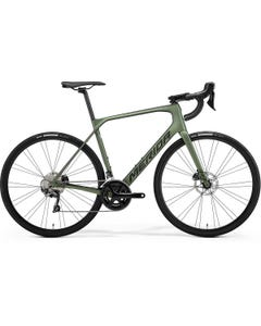 Merida Scultura Endurance 5000 Road Bike Matt Green/Black (2021)