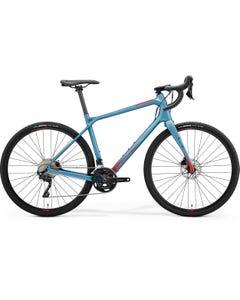 Merida Silex 4000 Gravel Bike Matt Teal Blue/Glossy Red (2021)