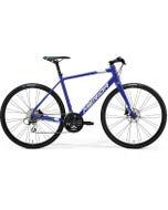Merida Speeder 100 Flat Bar Road Bike Dark Blue/Blue/White (2021)