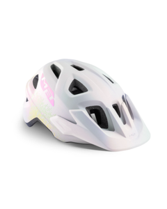 Met Eldar Girls Helmet Iridescent White 52-57cm