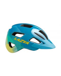 Lazer Gekko Kids Helmet Blue/Yellow 50-56cm