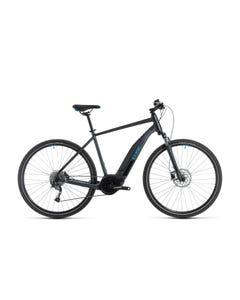 Cube Nature Hybrid ONE 400 Electric Hybrid Bike Iridium/Blue (2020)
