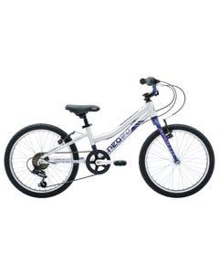 Neo Kids Bike 20 6-Speed Alloy/ Navy Blue/Lavender (2020)