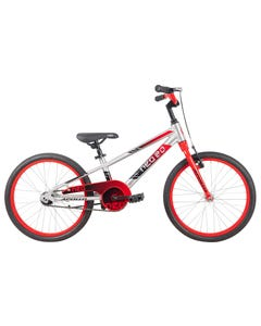 Neo Kids Bike 20 Silver with Red Black Fade (2021)
