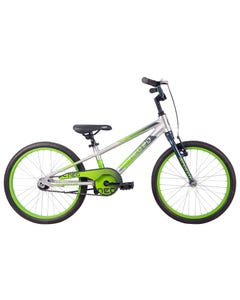 Neo Kids Bike 20 Silver with Slate Green Fade (2021)