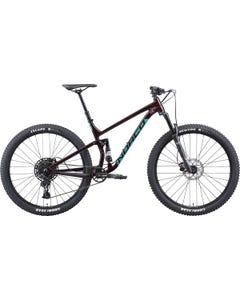 Norco Fluid FS 3 29 Mountain Bike Red/Jade (2021)