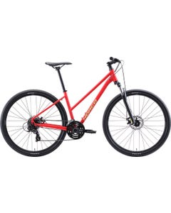 Norco XFR 3 ST Hybrid Bike Red/Green (2021)