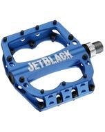 Jet Black Superlight Sealed Pedal (Blue)   99 Bikes