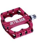 Jet Black Superlight Pedal | MTB (Sealed Red)  | 99 Bikes