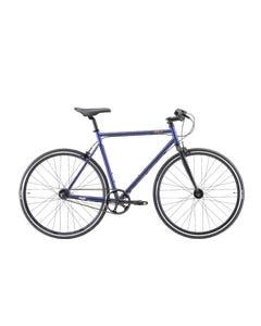 Pedal Messenger 3 Berlin Flat Bar Road Bike Midnight Blue