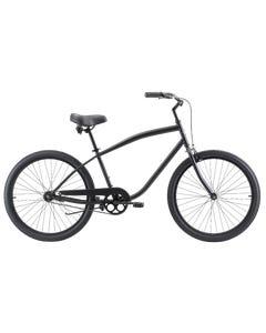 Pedal Copacabana Cruiser Bike Matt Black