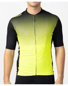 Pedal Short Sleeve Jersey Black Lime