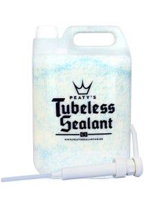 Peatys Tubeless Sealant 5 Litre Tub with Pump