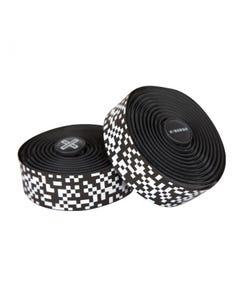 Burgh Pixel White Bar Tape Black 2.5mm