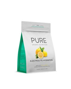 PURE Lemon Electrolyte Hydration Powder 500g