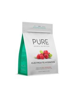 PURE Raspberry Electrolyte Hydration Powder 500g