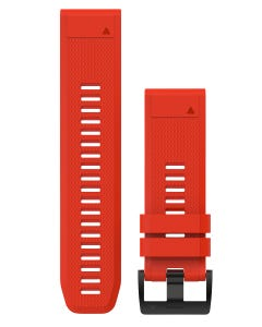Garmin Silicone Quickfit Watch Band 26mm Flame Red
