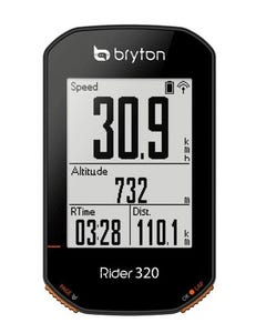 Computer Bryton Rider 320 with Cadence & HRM