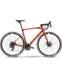 BMC Roadmachine One Road Bike Amber/Silver/Black (2021)