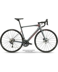 BMC Roadmachine Three Road Bike Grey/Red/Black (2021)