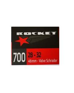 Rocket Schrader Valve Tube 700 x 28-32c 48mm