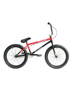 BMX Bikes Division Brookside 20inch Black Red Fade 2020