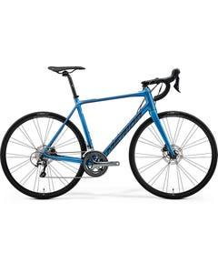 Merida Scultura 300 Road Bike Matt Blue (2022)