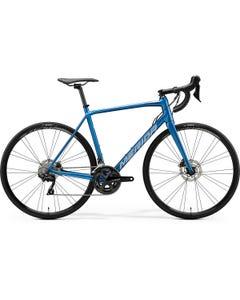 Merida Scultura Disc 400 Road Bike Silk Light Blue/Silver/Blue (2020)