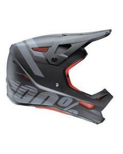 Helmet Fullface Youth 100% Status Black Meteor