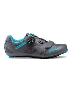 Northwave Storm Women's Shoes Anthracite/Aqua