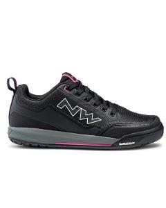 Northwave Clan Women's Shoes Black/Fushsia
