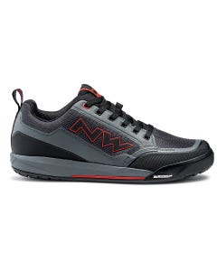 Northwave Clan Shoes Anthracite/Red