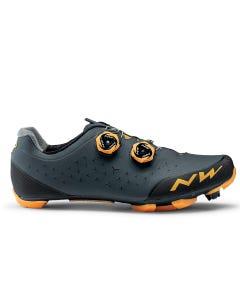 Northwave Rebel 2 Shoes Anthracite/Orange
