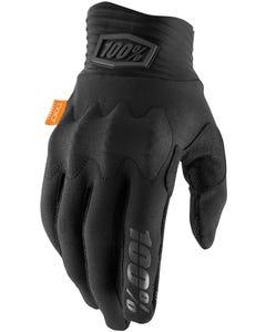 100% Cognito Gloves Black