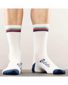 Socks Bellwether Tilt White