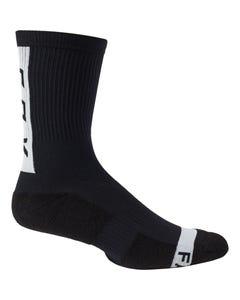 """FOX Ranger Cushion 8"""" Socks Black"""