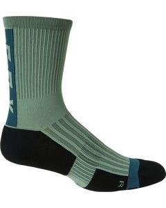 """Fox Ranger Cushion 6"""" Socks Sage"""