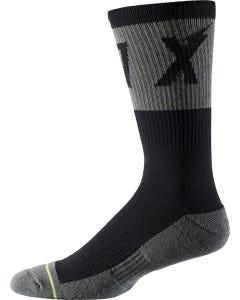 "FOX Trail Cushion 8"" Socks Black"