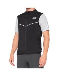 Vest 100% Corridor Stretch Black