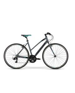 Merida Speeder 10 V Women's Flat Bar Road Bike Glossy Grey/Black/Teal (2021)
