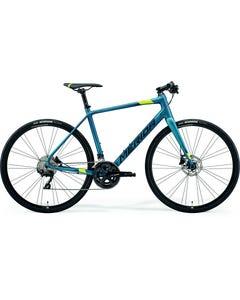 Merida Speeder 400 Flat Bar Road Bike Silk Teal/Lime/Black (2021)