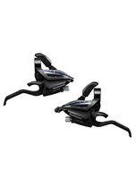 Shimano Acera 7 Speed ST EF500 EZfire STI Set Black