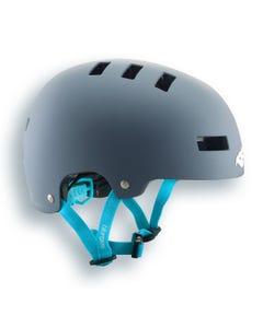 Bluegrass Super Bold Helmet Grey/Cyan