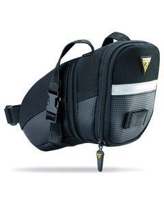 Topeak AeroWedge Pack Strap Mount Topeak AeroWedge Pack Strap Mount Saddlebag [Medium] (Black) [Medium] (Black) | 99 Bikes