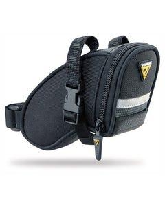 Topeak Aero Wedge Pack Strap Mount Black Micro Saddlebag | 99 Bikes